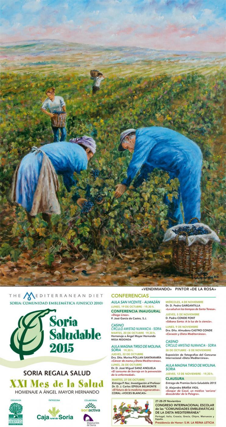 Concierto dentro del ciclo de conferencias de Soria Saludable 2015