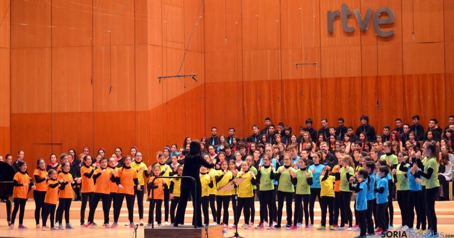 Los pequeños de la Coral de Soria, en el Festival Internacional de Coros