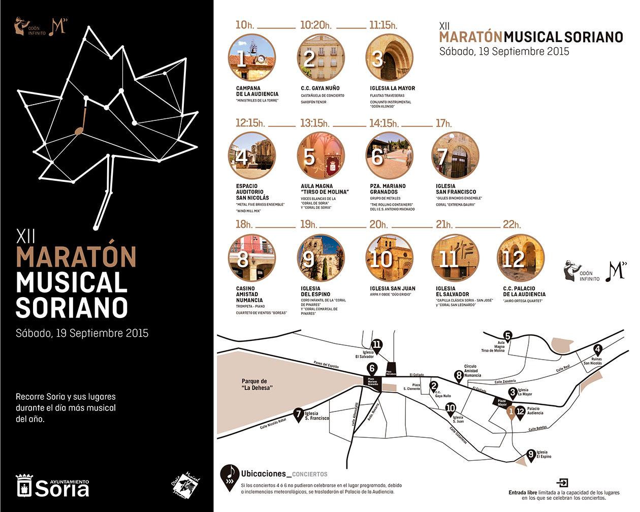 XII Maratón Musical Soriano